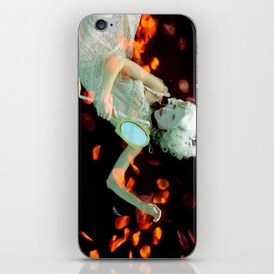 Girl Floating iPhone & iPod Skin