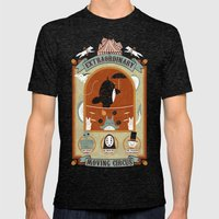 The Moving Circus Mens Fitted Tee Tri-Black SMALL