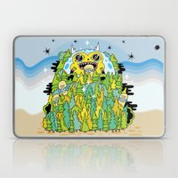 The Monster of Skate Forest Laptop & iPad Skin