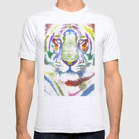 ROAR (tiger Color Versio… Mens Fitted Tee Ash Grey SMALL