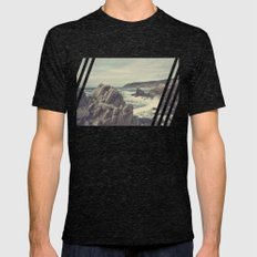'Sea As Far As You Can S… Mens Fitted Tee Tri-Black SMALL