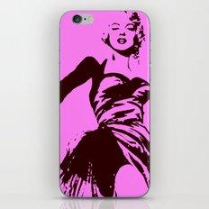 Marylin Monroe iPhone & iPod Skin