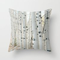 Aspen II Throw Pillow