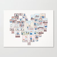 Find Heart Canvas Print