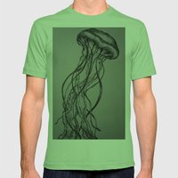 Vert Mens Fitted Tee Grass SMALL