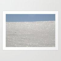 White Sands New Mexico  Art Print