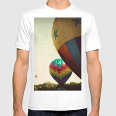 Take me Higher White Mens Fitted Tee SMALL