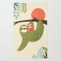 Mama Sloth Rug