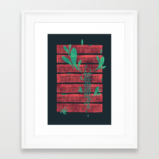 Power Chord Framed Art Print