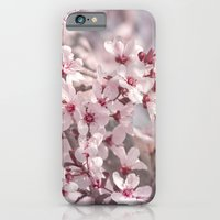 iPhone & iPod Case featuring Icy Pink Blossoms - In Memory of Mackenzie by Shawn King