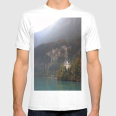 House on the Lake Mens Fitted Tee White SMALL