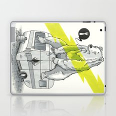 Camping Bear Laptop & iPad Skin
