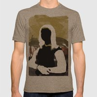 Mona Mens Fitted Tee Tri-Coffee SMALL
