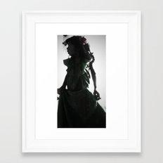 Little Spanish Princess Framed Art Print