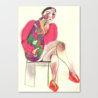 Study #27 Canvas Print