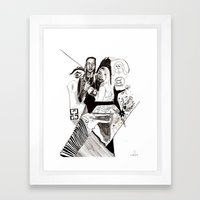 des24 Framed Art Print