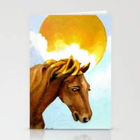 The Sun King - Thoroughbred Stallion Stationery Cards