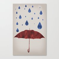 It Will Rain Canvas Print