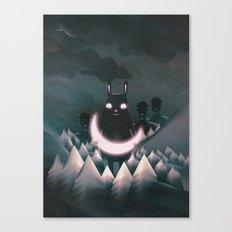 Come Closer Canvas Print
