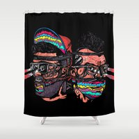 Bass Brothers Album cover  Shower Curtain