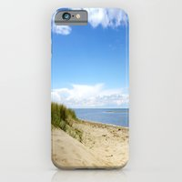 iPhone Cases featuring Summer dreams, in the dunes by Tanja Riedel
