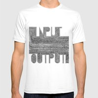 OutputInput Mens Fitted Tee White SMALL