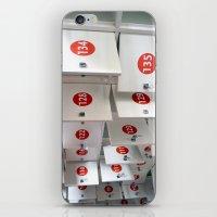 Lockers iPhone & iPod Skin