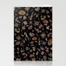 Botanical Study- Dark Colorway Stationery Cards