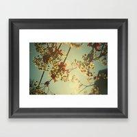 Welcome Spring | 02 Framed Art Print