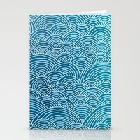 waves Stationery Cards featuring Waves by Arcturus