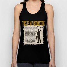 Evil Dead     Army of Darkness / Full Metal Jacket Mashup    This Is My Boomstick Unisex Tank Top
