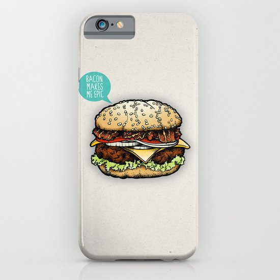 Epic Burger iPhone & iPod Case