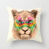 Lioness II Throw Pillow