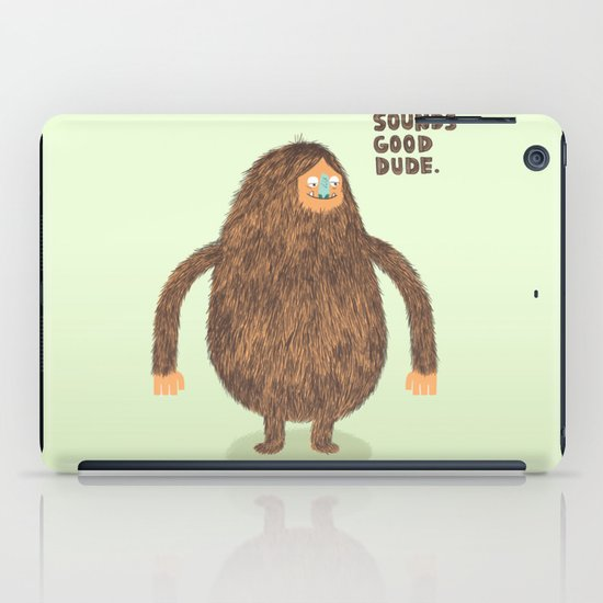 Sounds Good Dude iPad Case
