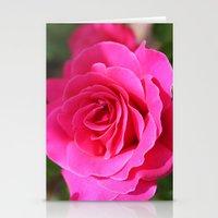 Rose 2 Stationery Cards