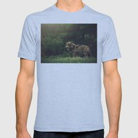 Bad Wolf Mens Fitted Tee Athletic Blue SMALL