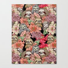 Because Sloths Canvas Print