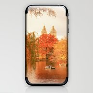 Central Park New York Ci… iPhone & iPod Skin