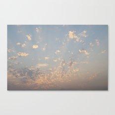 Sunset, July 22nd. Canvas Print