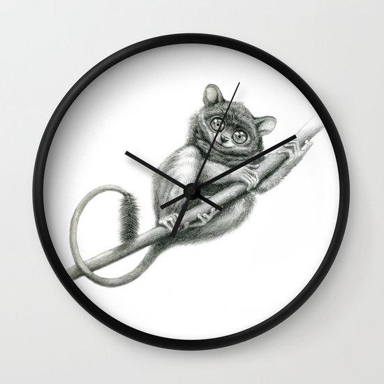 Philippine Tarsier G2012-047 Wall Clock