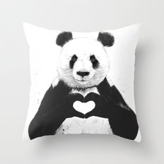 All You Need Is Love Throw Pillow