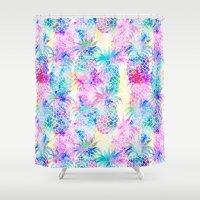Pineapple Dream Shower Curtain