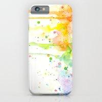 Watercolor Rainbow iPhone 6 Slim Case