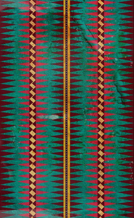 Geo Blanket Canvas Print