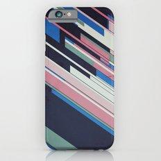 Retro Blue iPhone 6 Slim Case