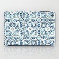 tile pattern IV - Azulejos, Portuguese tiles iPad Case