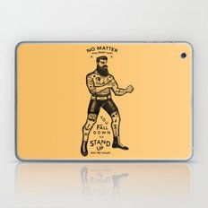 STAND UP AND TRY AGAIN Laptop & iPad Skin