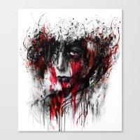 Annie Titan Canvas Print
