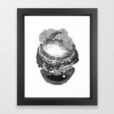 layers... Framed Art Print