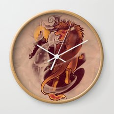 Valley of the Fallen Star Wall Clock